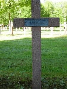 Tombe du caporal clairon Janéaz