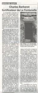 Article Vosges Matin du 20 juin 2015