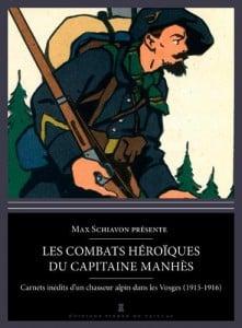 Couverture du lire Les combats hérïques du capitaine manhes