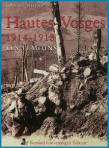 couverture Hautes-Vosges 1914-1918