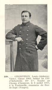 GROSPIRON Alphonse