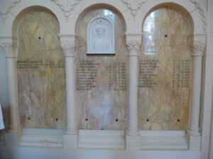Liste des morts à l'Eglise Emm