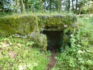 Bunker sur le piton du Spitzemberg