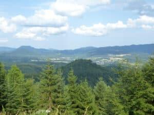 Vue du Spitzemberg à partir de la Roche d'Ormont