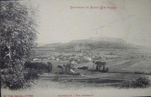 marzelay et les positions ennemies