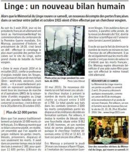Conférence Le Linge l'Alsace 31032016