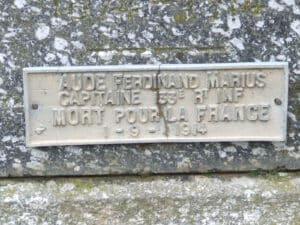 133 - AUDE Ferdinand Marius
