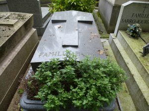 Maurice Barberot - Tombe Bally Père Lachaise - 1