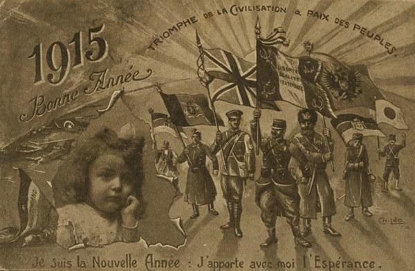 Carte de Voeux 1915